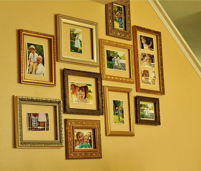 """such a great idea!  """"quick-change-it-up photo gallery""""  tutorial"""