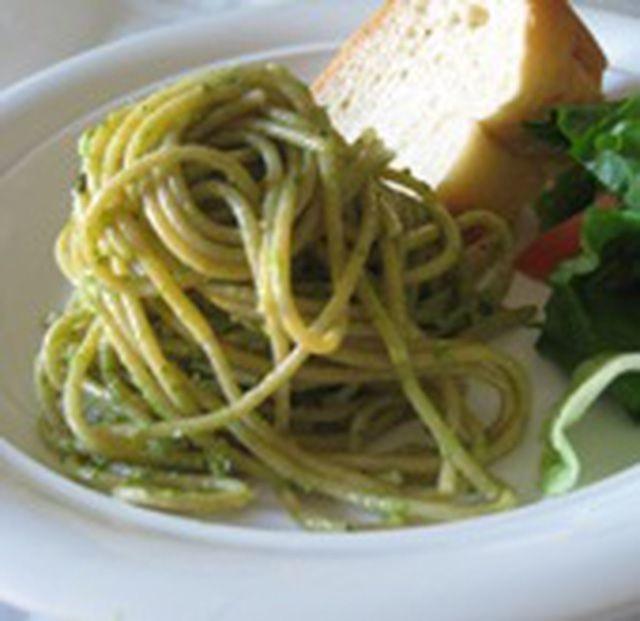 recipe: low calorie pesto pasta [35]