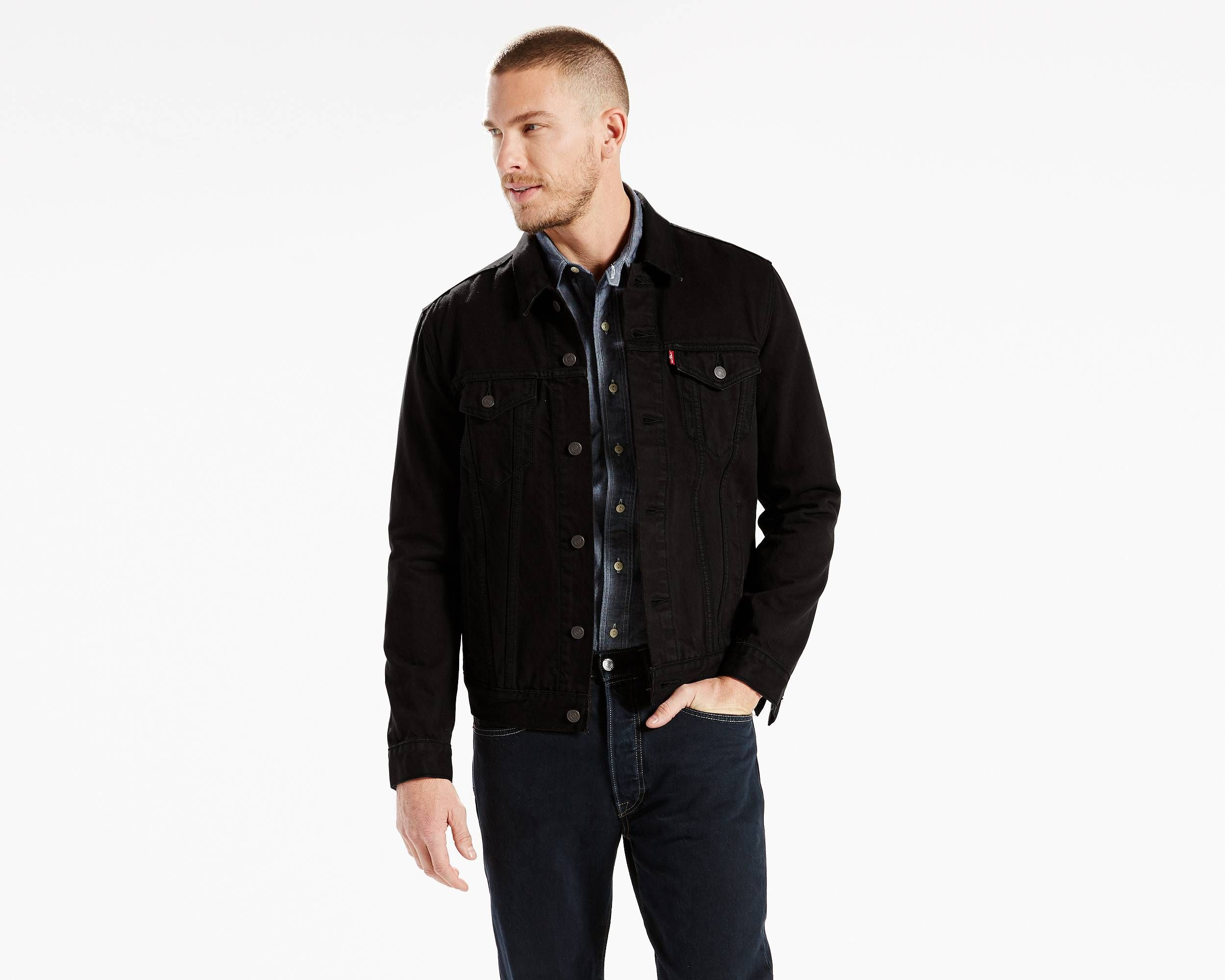 Trucker Jacket Black Levi's® US Jackets, Levis jean