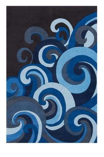 Cool rug for our Ocean theme baby room