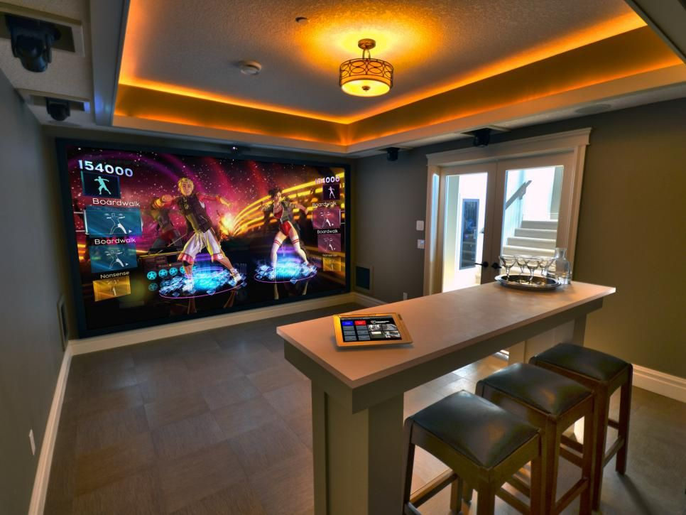 50 Awesome Video Game Room Decoration Ideas Interiorsherpa Small Media Rooms Game Room Decor Video Game Room Decor