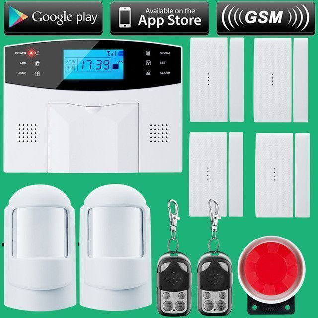 Do it yourself wireless home safety and security security alarm solutioingenieria Images
