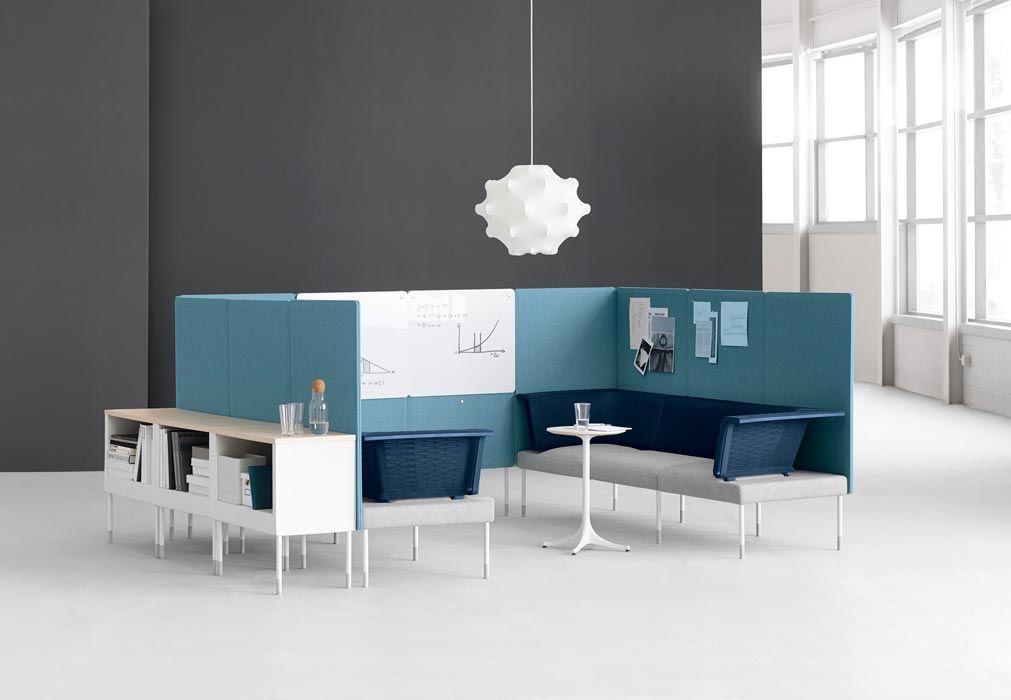 Public Office Landscape Agile Office Workspace Interior Furniture Workspace Design