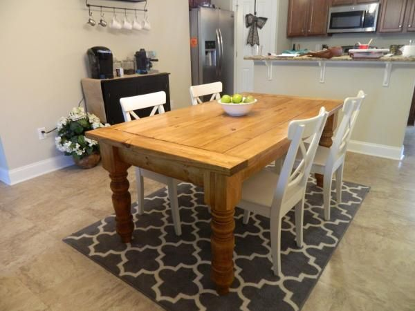 Exceptionnel Husky Farmhouse Dining Table | Do It Yourself Home Projects From Ana White