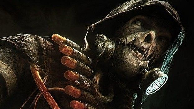 This stylized look for DC comic book villain Scarecrow smacks of post-apocalyptic horror.