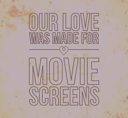 Our Love Was Made For Movie Screens Kodaline From An