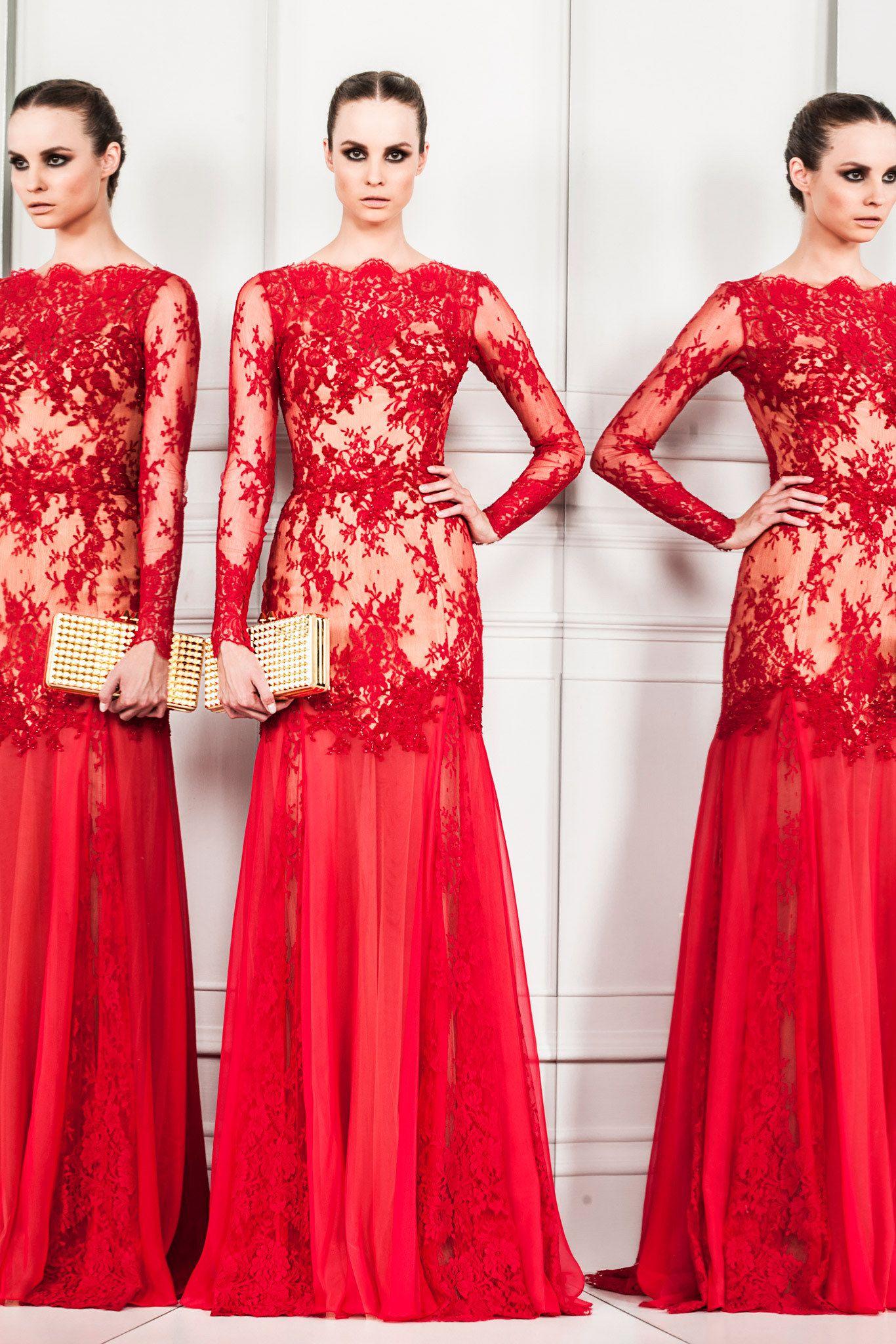Zuhair murad spring readytowear fashion show zuhair murad