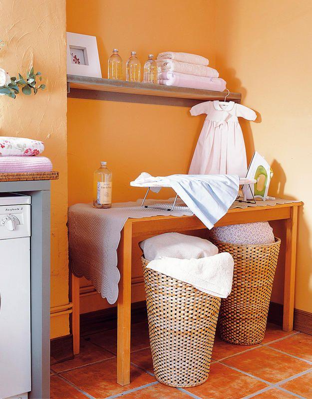 Pr cticos cuartos de lavado y plancha tabla de planchar for Lavaderos practicos