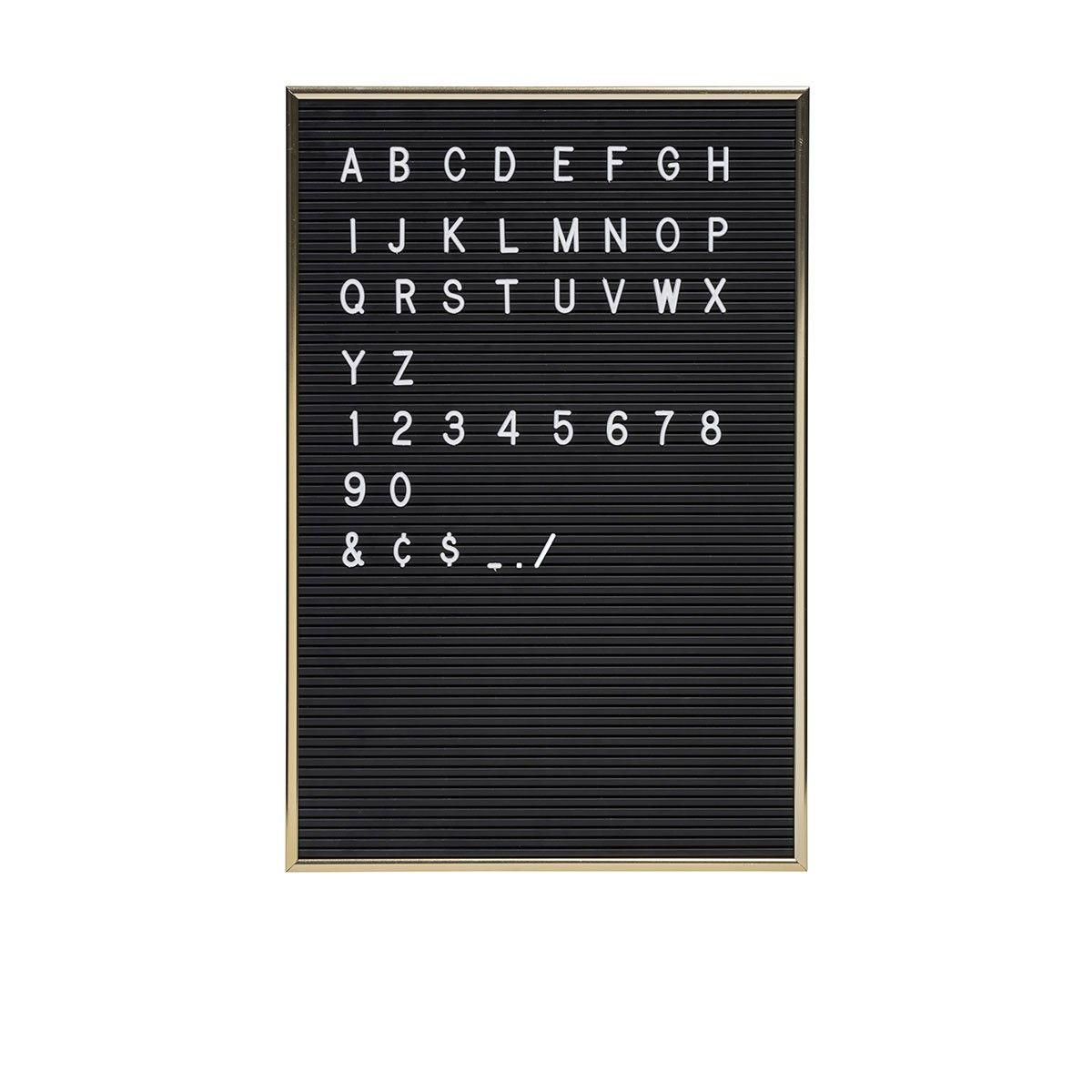tableau pour crire 286 lettres poser sur un meuble ou accrocher au mur ce tableau au. Black Bedroom Furniture Sets. Home Design Ideas