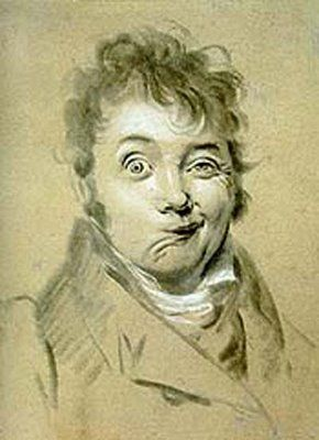 Louis Boilly - Autorretrato, 1822-23