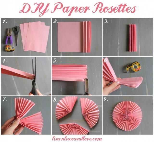 DIY Rosettes