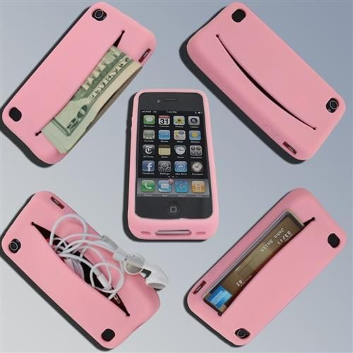 Awesome I Phone Case + Wallet. that's awesome all i need is an iPhone now
