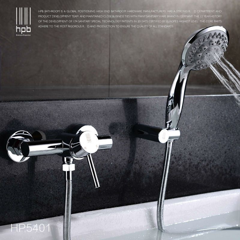 Hpb Brass Waterfall Bathroom Hot And Cold Water Bathtub Mixer