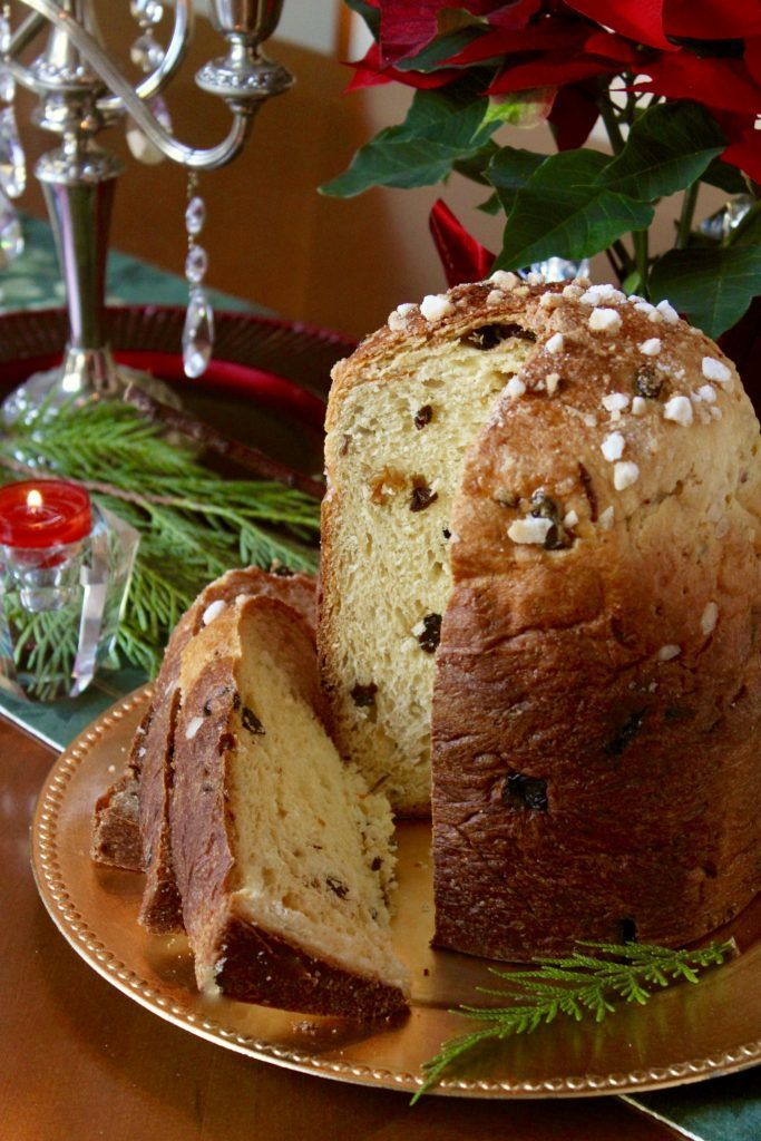 Panettone Made In Bread Machine And Cooked In The Oven With