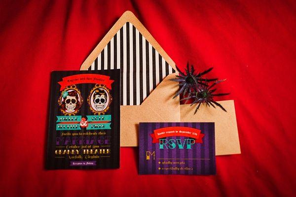 Alternative Theatre Halloween Wedding Inspiration / Tidewater and Tulle | A Virginia Wedding Blog