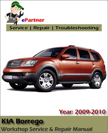 kia borrego service repair manual 2008 2010 kia service manual rh pinterest ch kia borrego repair manual kia borrego service manual