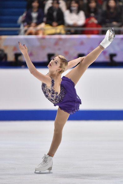 ISU Grand Prix of Figure Skating 2014/2015 NHK Trophy ...Gracie Gold Skating Dresses