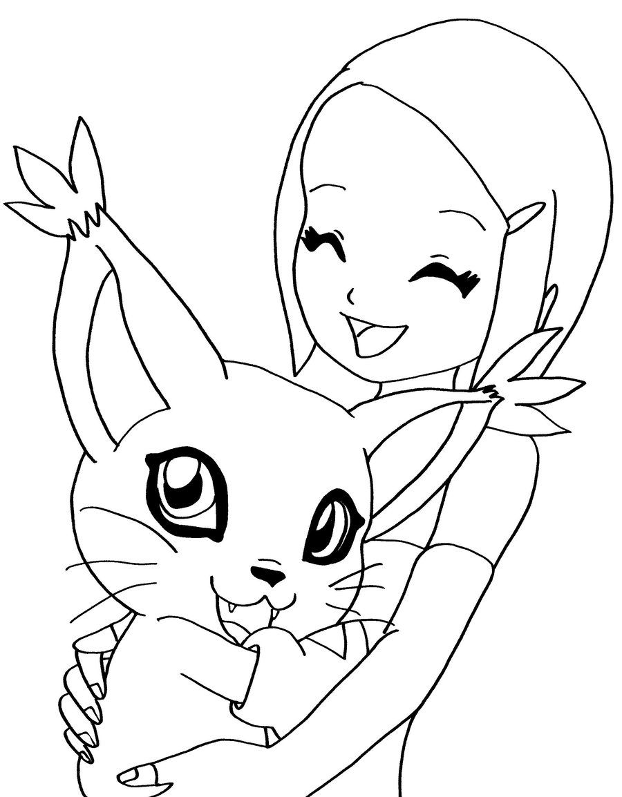 Digimon Coloring Page Sailor Moon Coloring Pages Cute Coloring