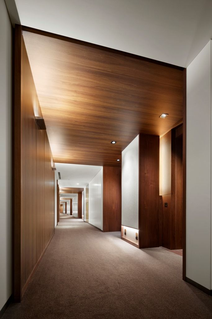 Corridor andaztokyo interior hotel corridor for Hotel corridor decor