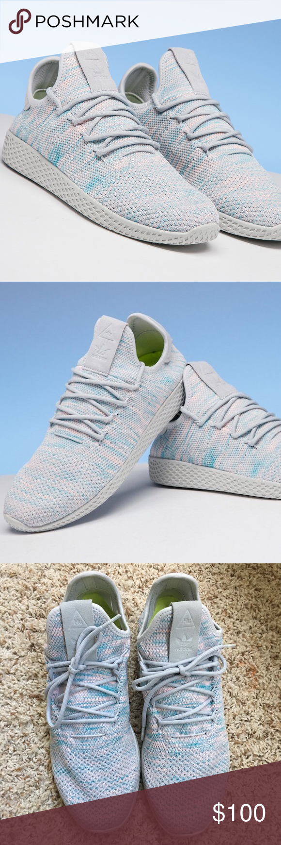 Pharrell Williams X Tennis Hu Scarpe Adidas