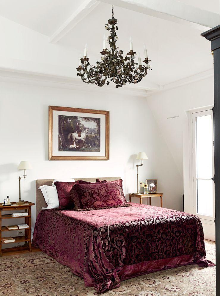 black chandelier - st germain - paris apartment | ABKasha