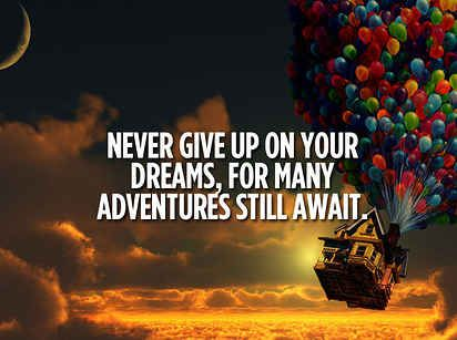 Up Quotes Simple 21 Invaluable Life Lessons We Learned From Disney Movies  Pinterest