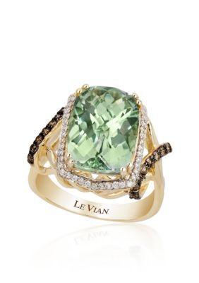 Le Vian  Mint Amethyst8482 Chocolate Diamond174 and Vanilla Diamond174