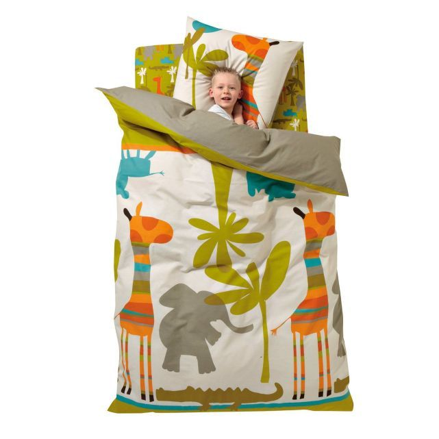 housse de couette enfant savane party vertbaudet bed sheets pinterest couette enfant. Black Bedroom Furniture Sets. Home Design Ideas