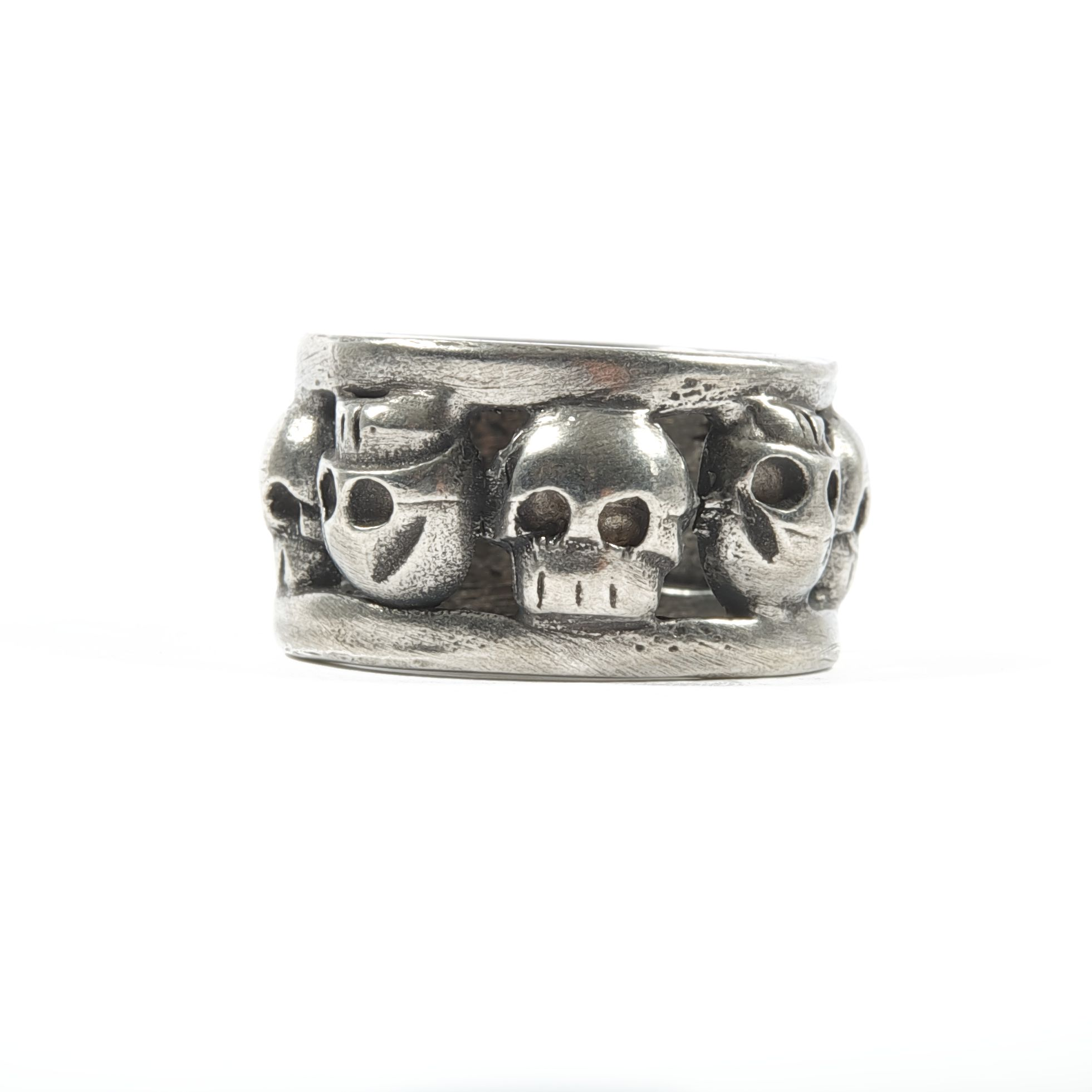 blossom stackable fine ring at pewter sweet gifts rings stacking