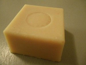 Lemon yogurt soap for fresh morning - 100% olive oil variant