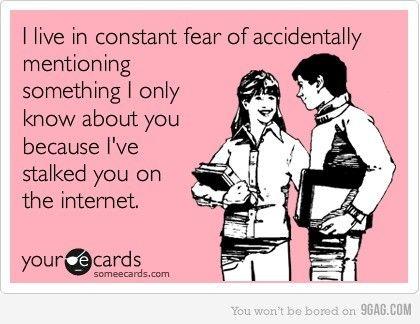 hahahah we're all creeps.