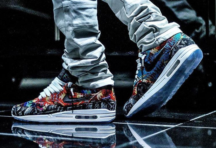 basket nike air max 1 id what the pendleton on feet 2 in