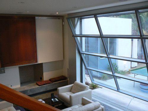 Flip Up Door Modern Exterior Dining Room Windows Modern Remodel