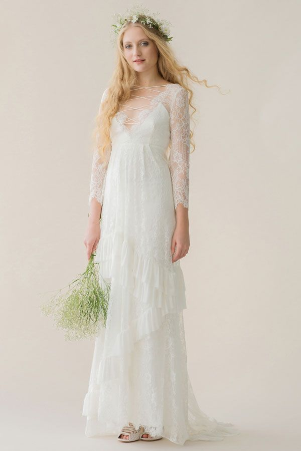 Rue de Seine Bridal Bohemian Inspired Young Love Collection   #vintage #rustic #wedding #dresses