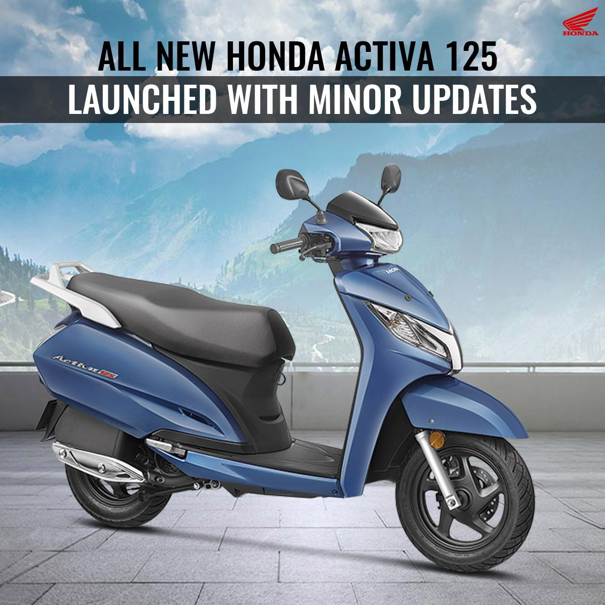 2018 Honda Activa 125 Comes With Monsoon Offer Avail Now Honda
