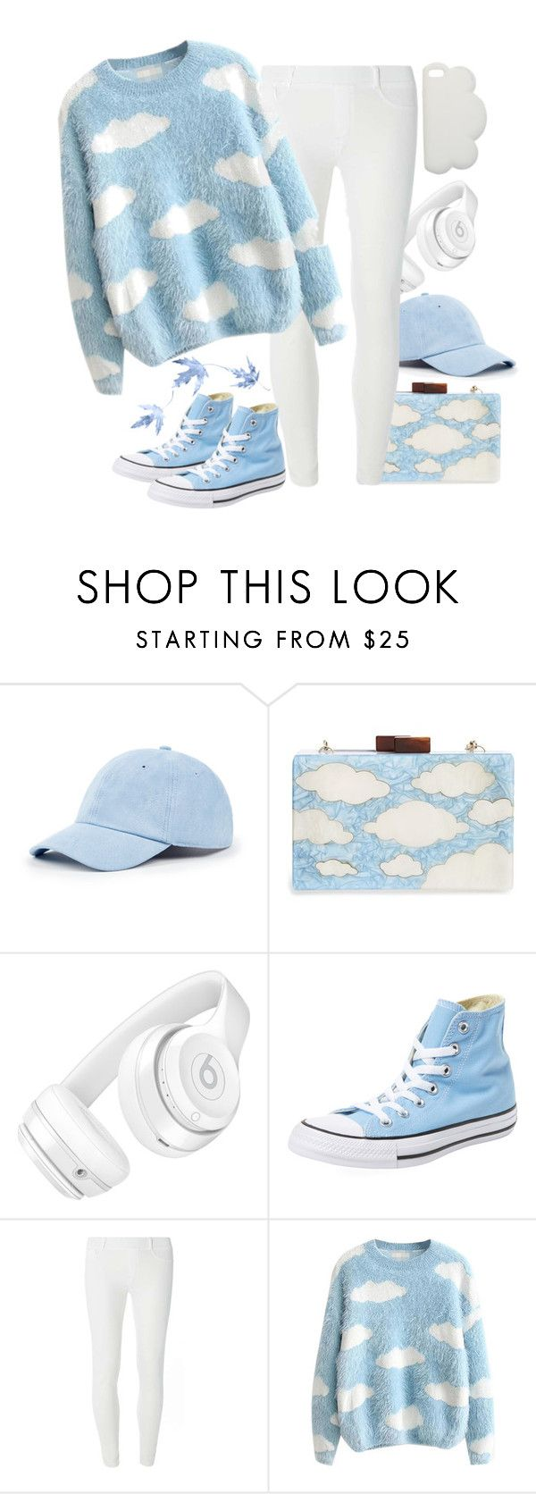 """""""Sky High"""" by suellfam ❤ liked on Polyvore featuring Sole Society, Natasha, Beats by Dr. Dre, Converse, Dorothy Perkins and STELLA McCARTNEY"""