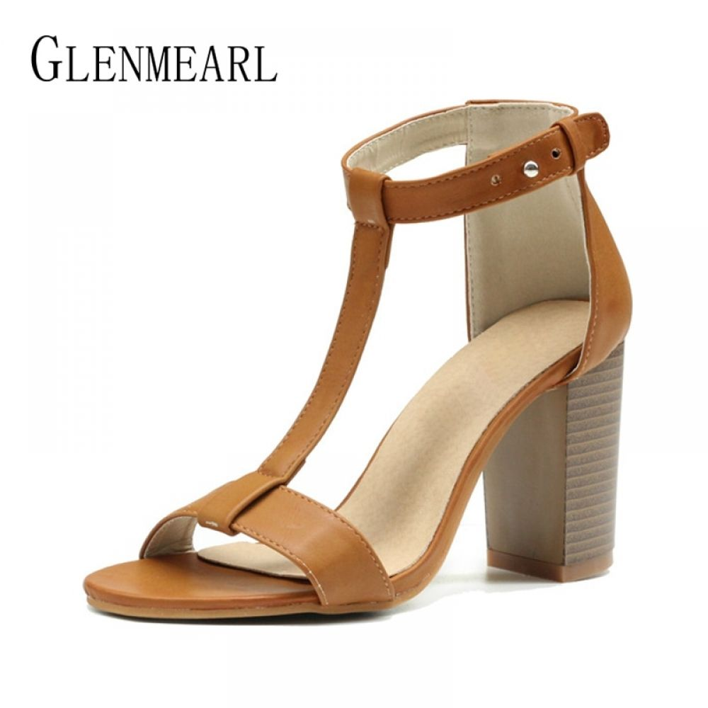 1f7f63a25fac8e Sexy Women Heeled Sandals Summer Shoes Women Gladiator Sandals Open Toe  Women Shoes High Heels Wedding