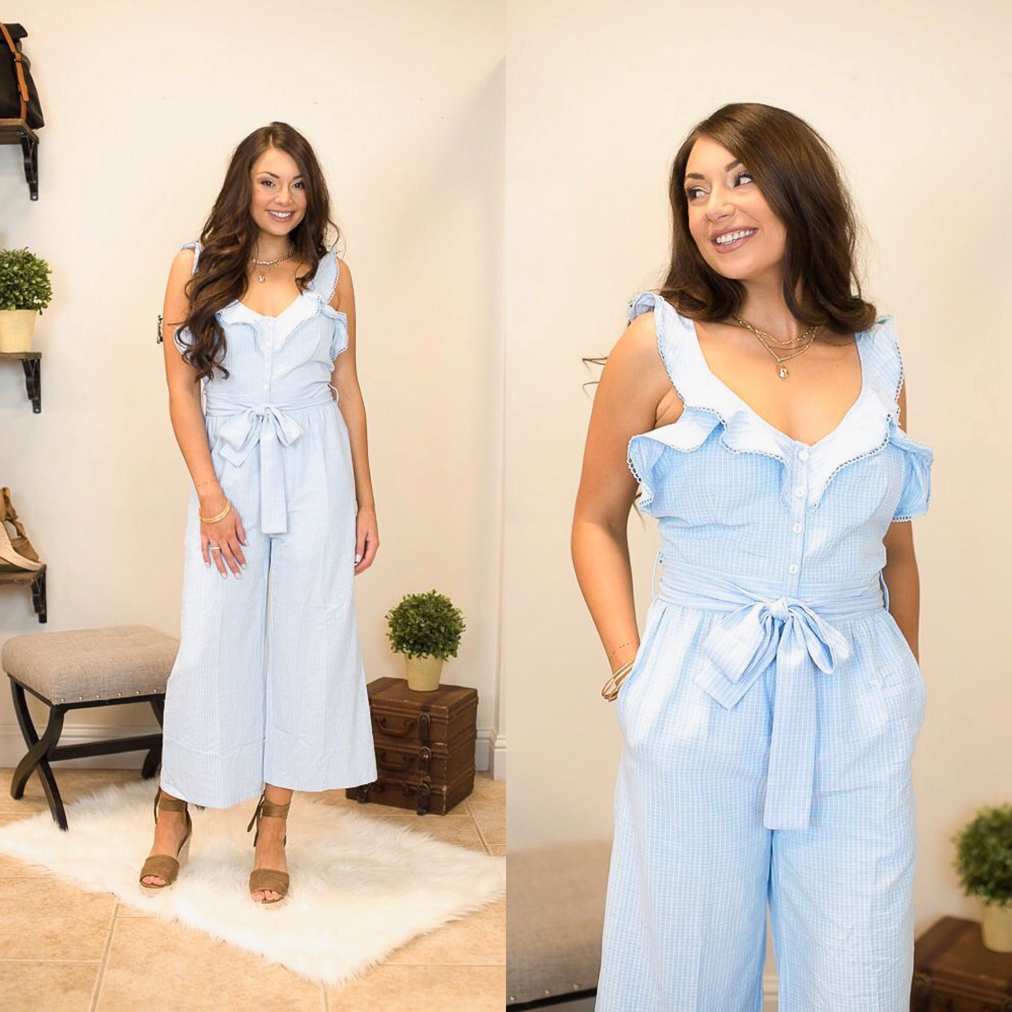Free Fallin Jumpsuit Available In Small Medium Large For