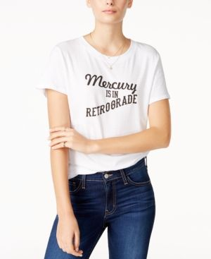 492cc35414ca Sub Urban Riot Mercury Retrograde Graphic T-Shirt - White XS ...