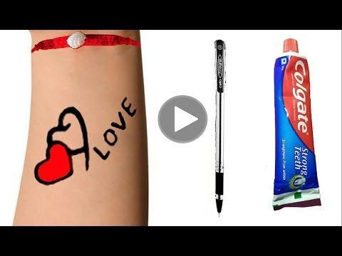 Photo of How To Make Tattoo At Home with pen | diy Tattoo with pen | Life is Update 2070@Crafty Ideas – Homemade Tattoo 2020