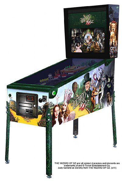 Wiz Of Oz Pinball For The New Gameroom Pinball Pinball Machines Pinball Machine