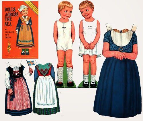 MINIDESIGN (boekjes): Aankleedpoppen