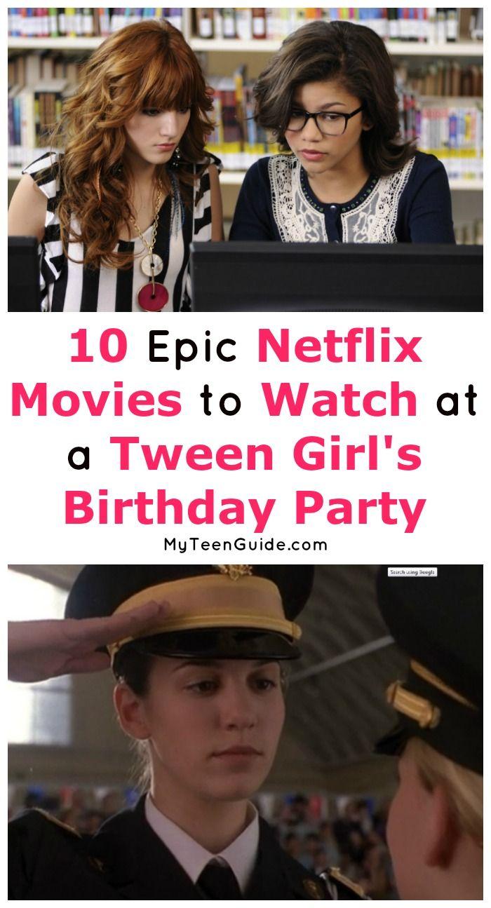 Tween-Filme auf Netflix