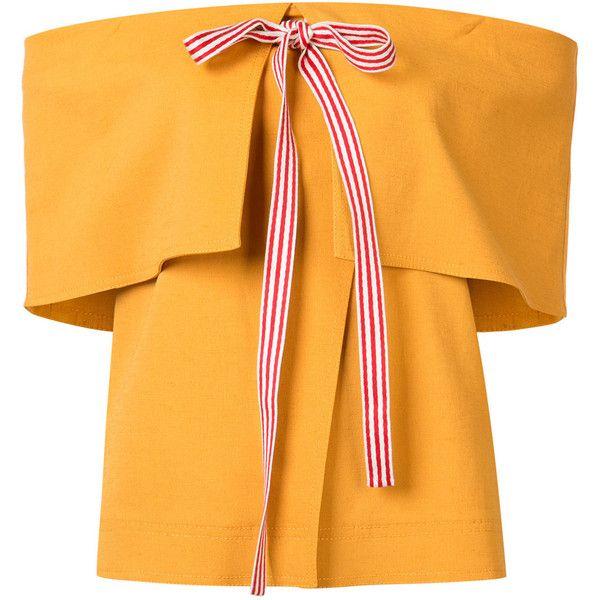 Rosie Assoulin ribbon off-shoulder top ( 1 286fa06ee