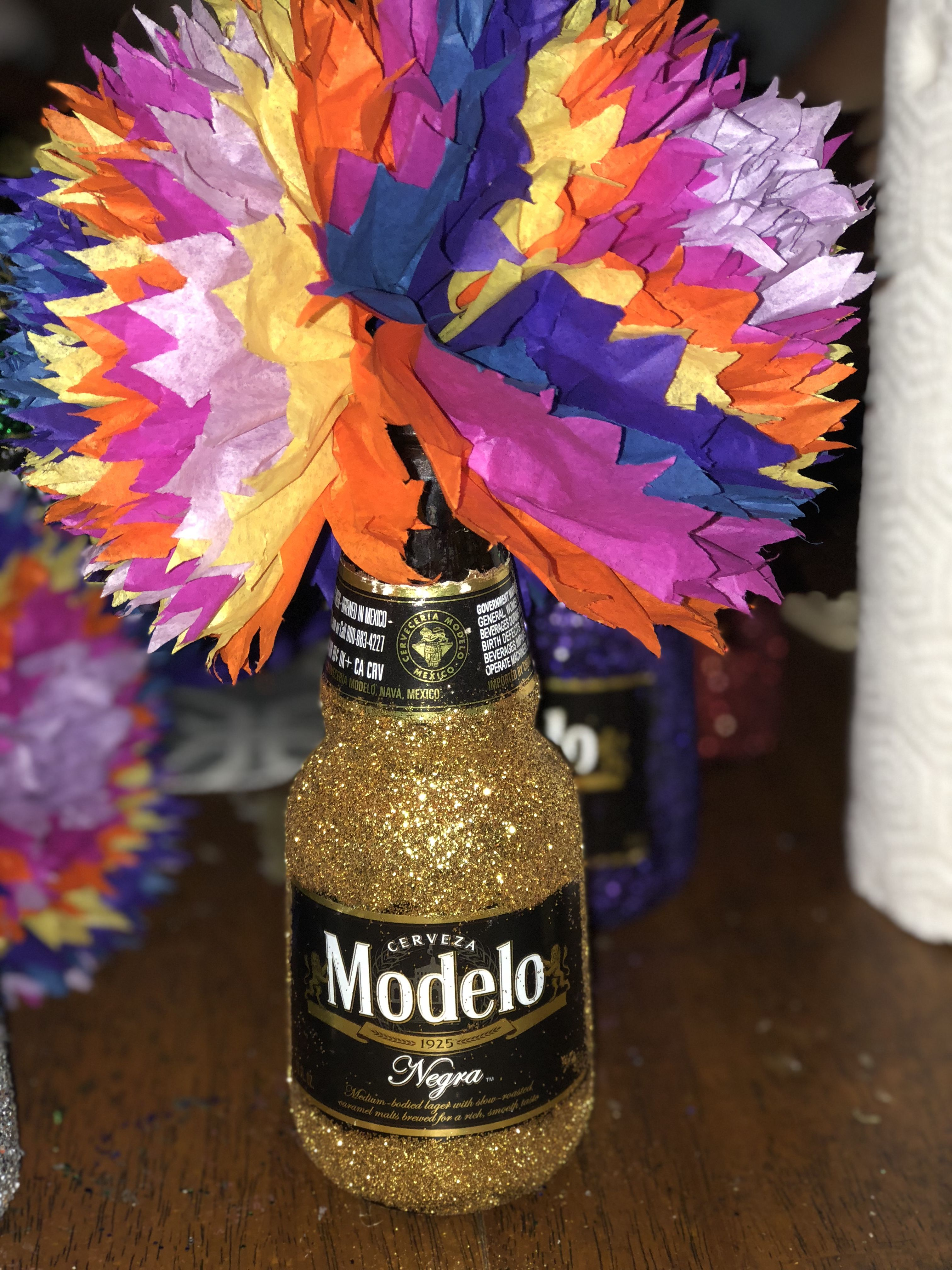 Excellent Mexican Center Pieces Fiesta Themed Beer Theme Glitter Download Free Architecture Designs Lukepmadebymaigaardcom