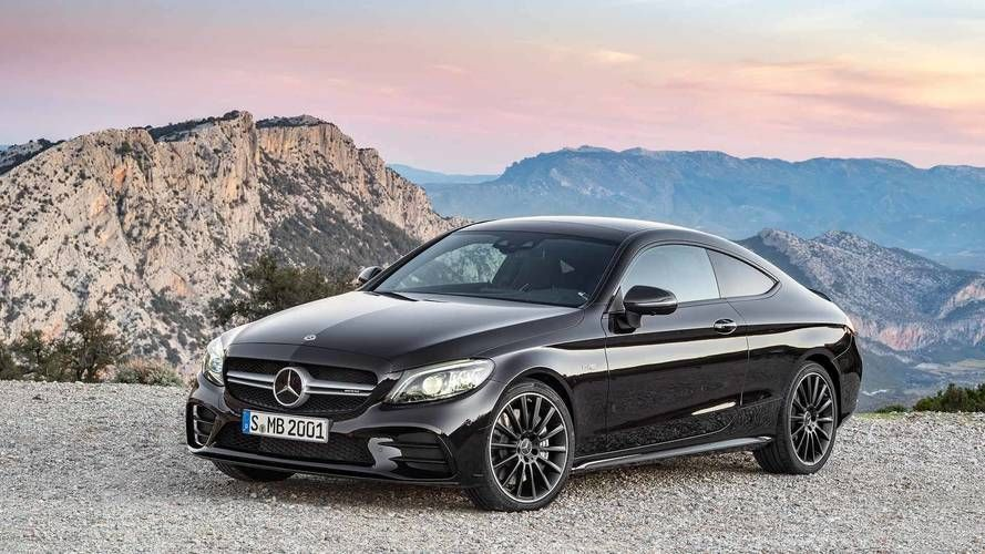 2019 Mercedes Cclass Coupe Wallpaper Mercedes C Class Coupe