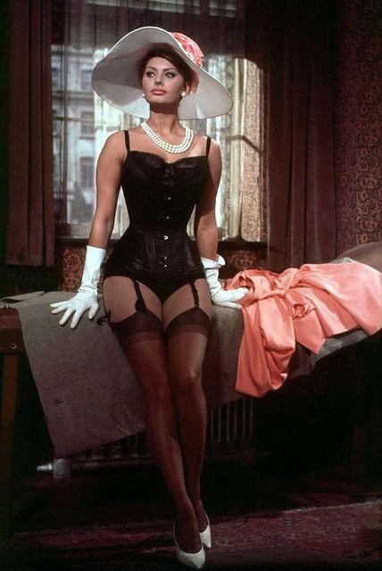 "50+ Sophia Loren's ""The Millionairess"" Corset Scene! ideas | sophia loren,  millionairess, classic movies scenes"
