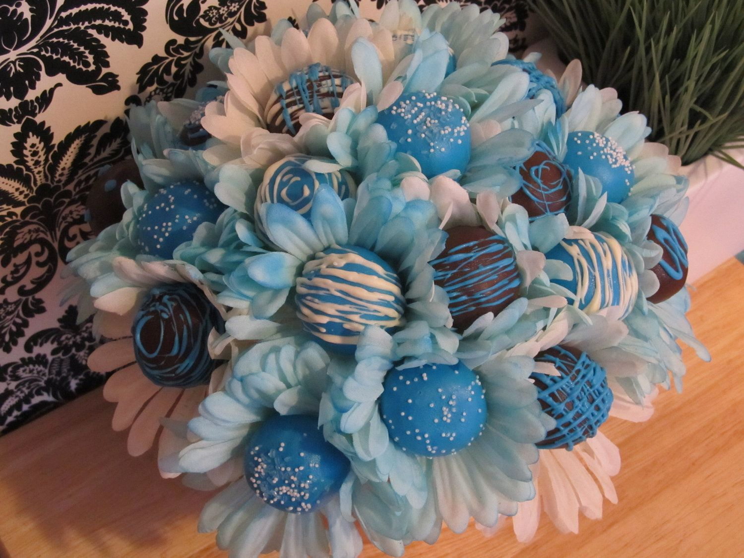 Flower Cake Pops / Wedding / Birthday / Bridal Shower / Baby Shower ...
