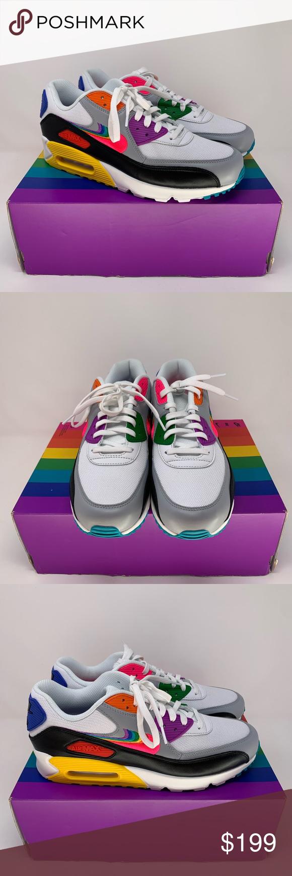 """New Nike Air Max 90 """"Be True"""" LGBTQ"""