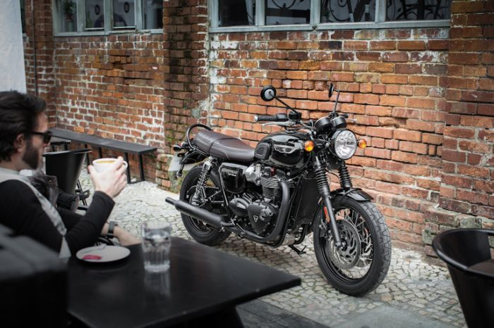 Promo Shots Of The New Triumph Bonneville T120 Triumph
